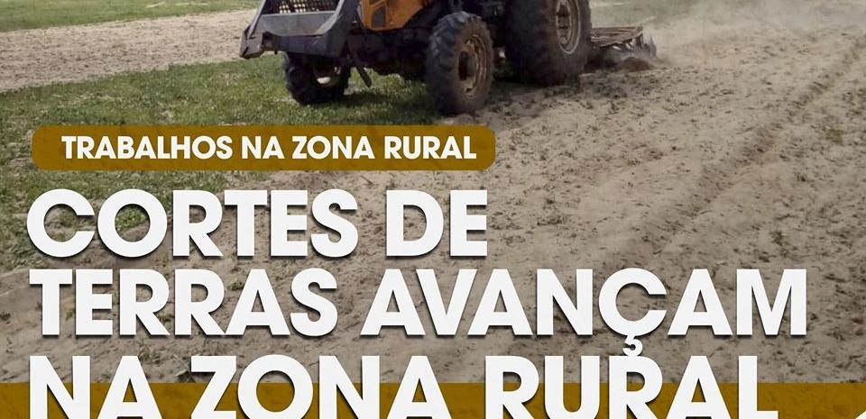 Prefeitura de Pedro Avelino iniciou os trabalhos de cortes de terras na zona rural.