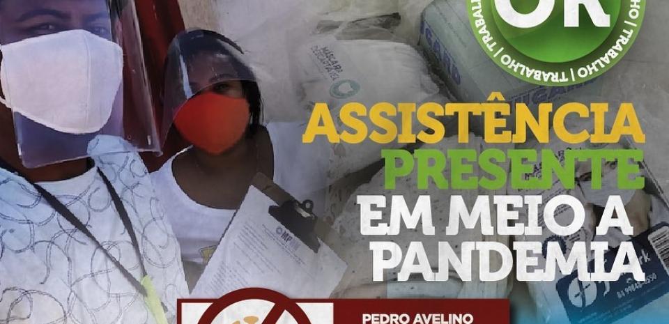 Equipe da Secretaria de Assistência Social recebe remessa de EPI's.