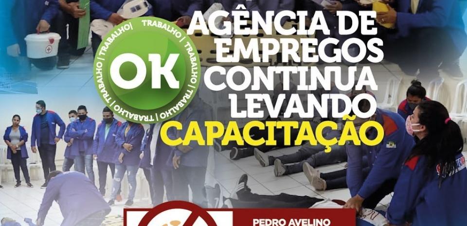 Cursos de capacitação para mão de obra local seguem a todo vapor em Pedro Avelino.